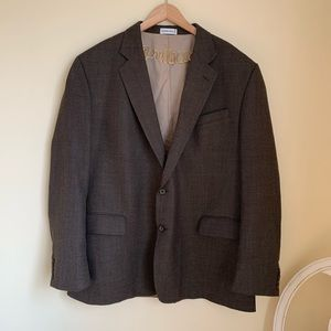 Geoffrey Beene Brown 48L Sports Coat